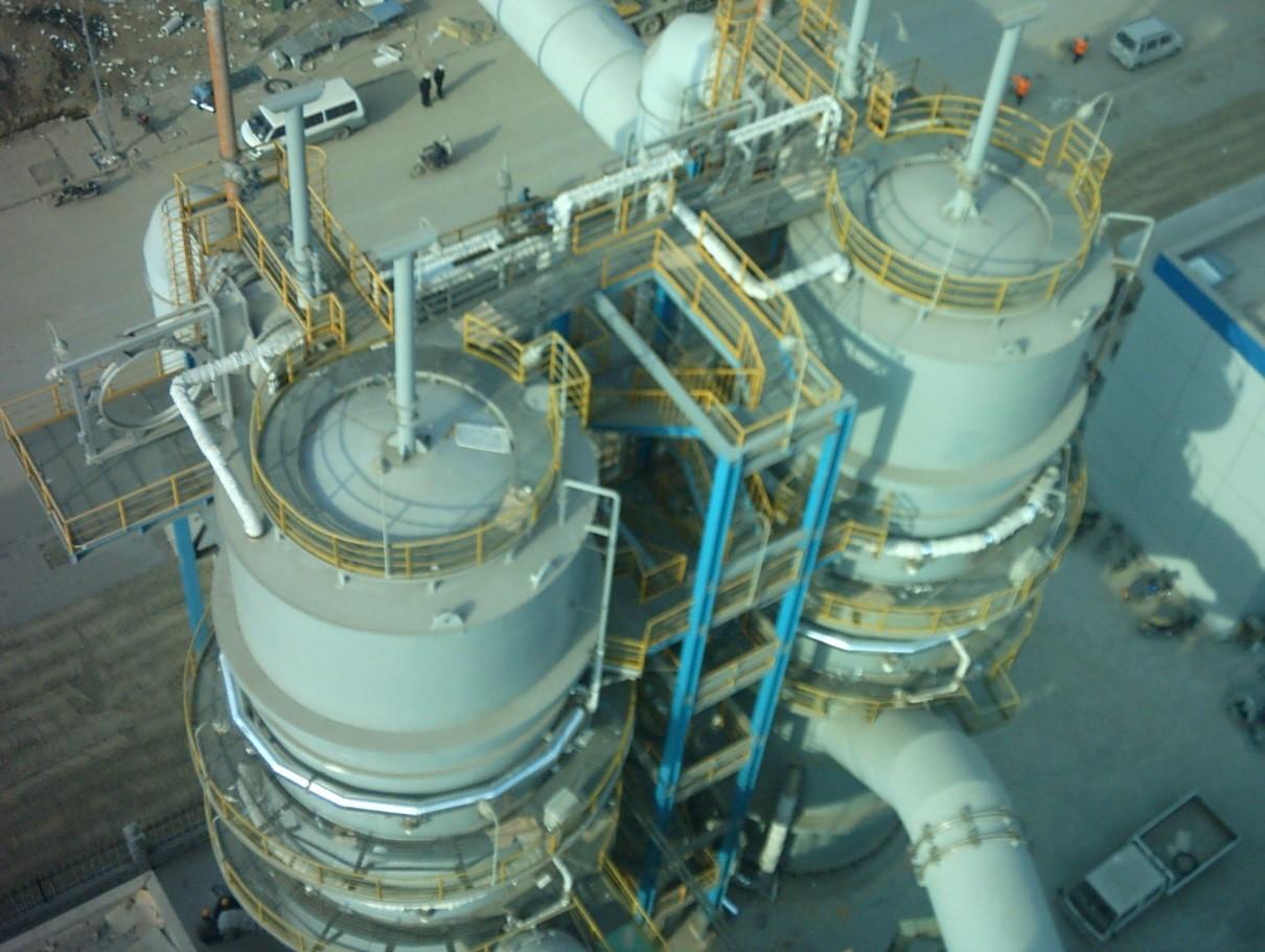 转炉煤气干法除尘煤气冷却器