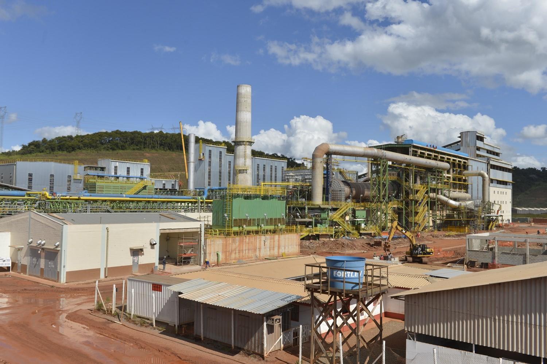 巴西VSB公司136萬ta鏈篦機-回轉窯-環冷機球團生產線