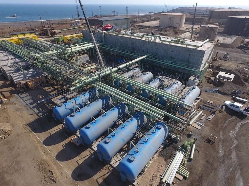 首鋼秘魯鐵礦20,000m3d海水淡化工程