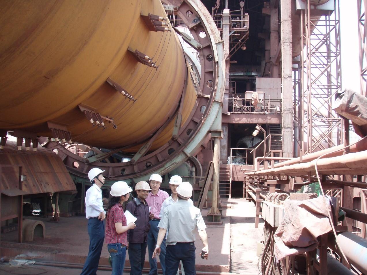 印度Arya公司120萬t球團廠,第一條由國內工程公司完成設計和設備供貨的全赤鐵礦