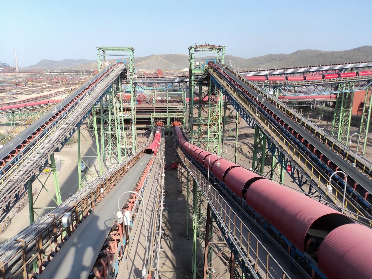 印度JSW公司700萬t料場項目
