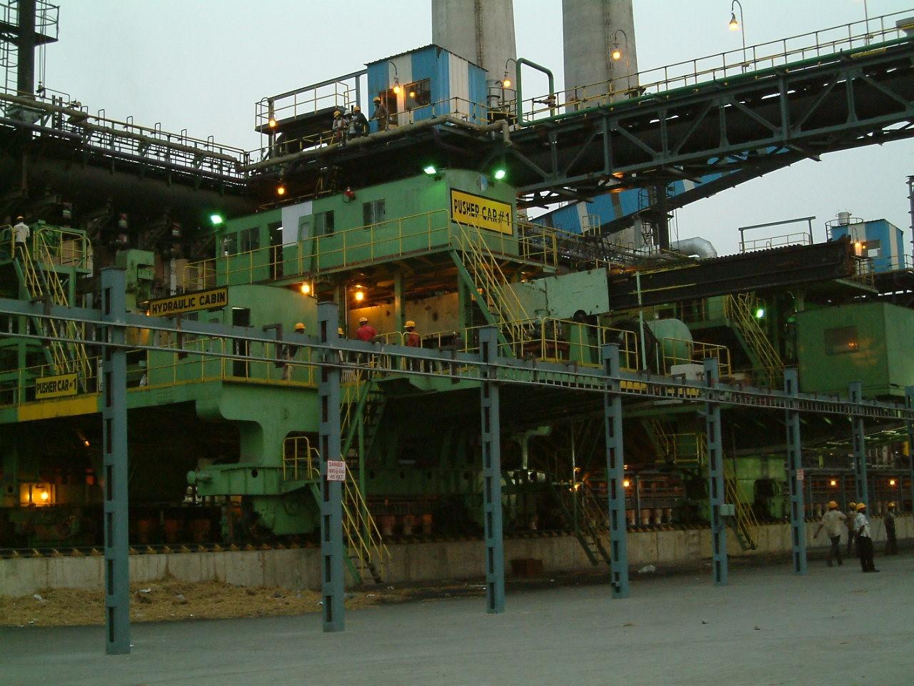 印度布山公司-Bhushan2×64孔4.3m搗固焦爐