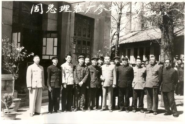 1964年3月周恩来视察万博max登陆-右五