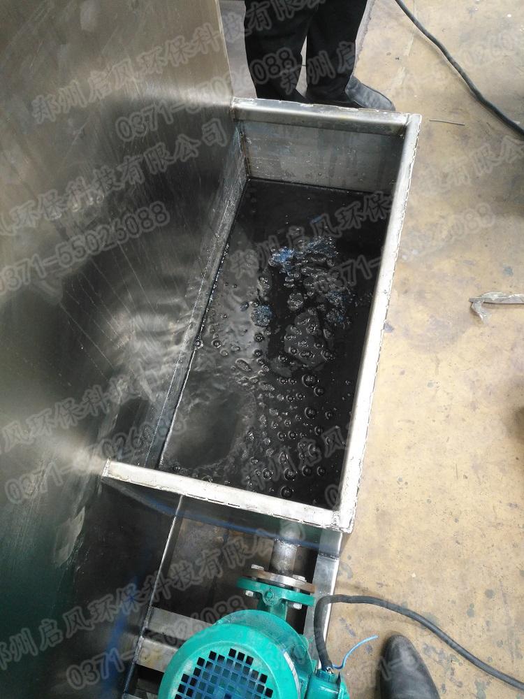 水旋箱处理水效果
