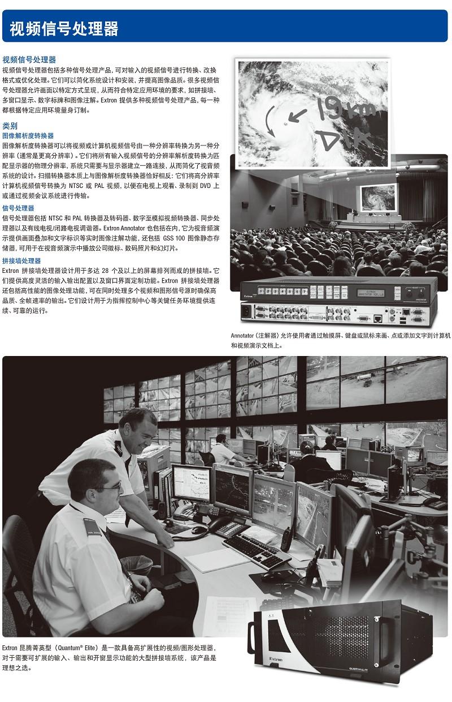 视频信号处理器1