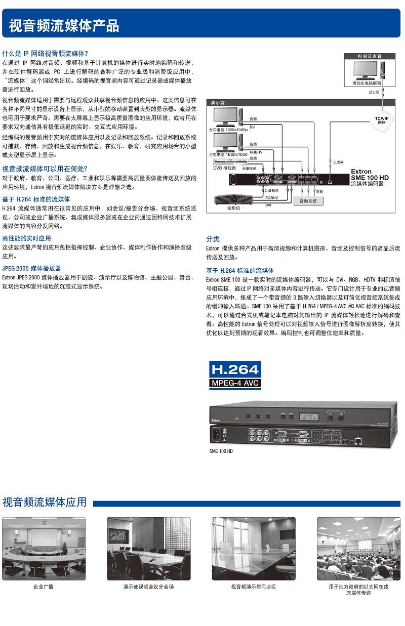 视音频流媒体产品1-1