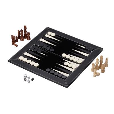西洋双陆棋国际象棋二合一套装