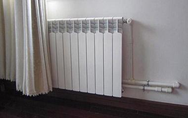 明装暖气片对比1-3