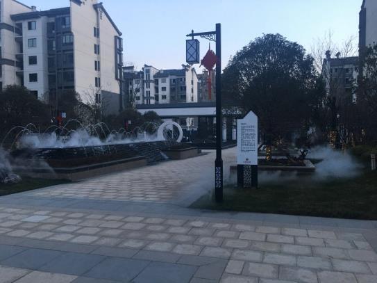 百川市政助力南阳大体量中式水景园林-中信国安城