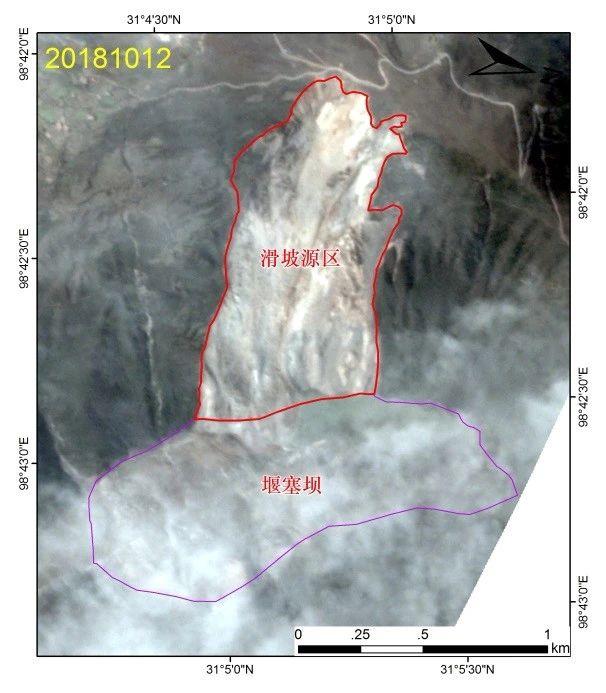 滑后Planet卫星影像