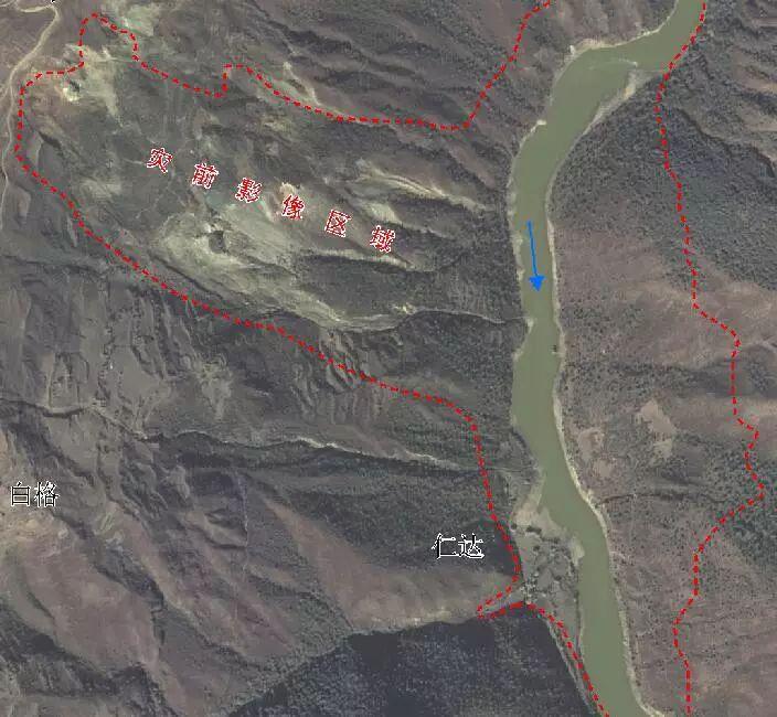 灾前卫星影像