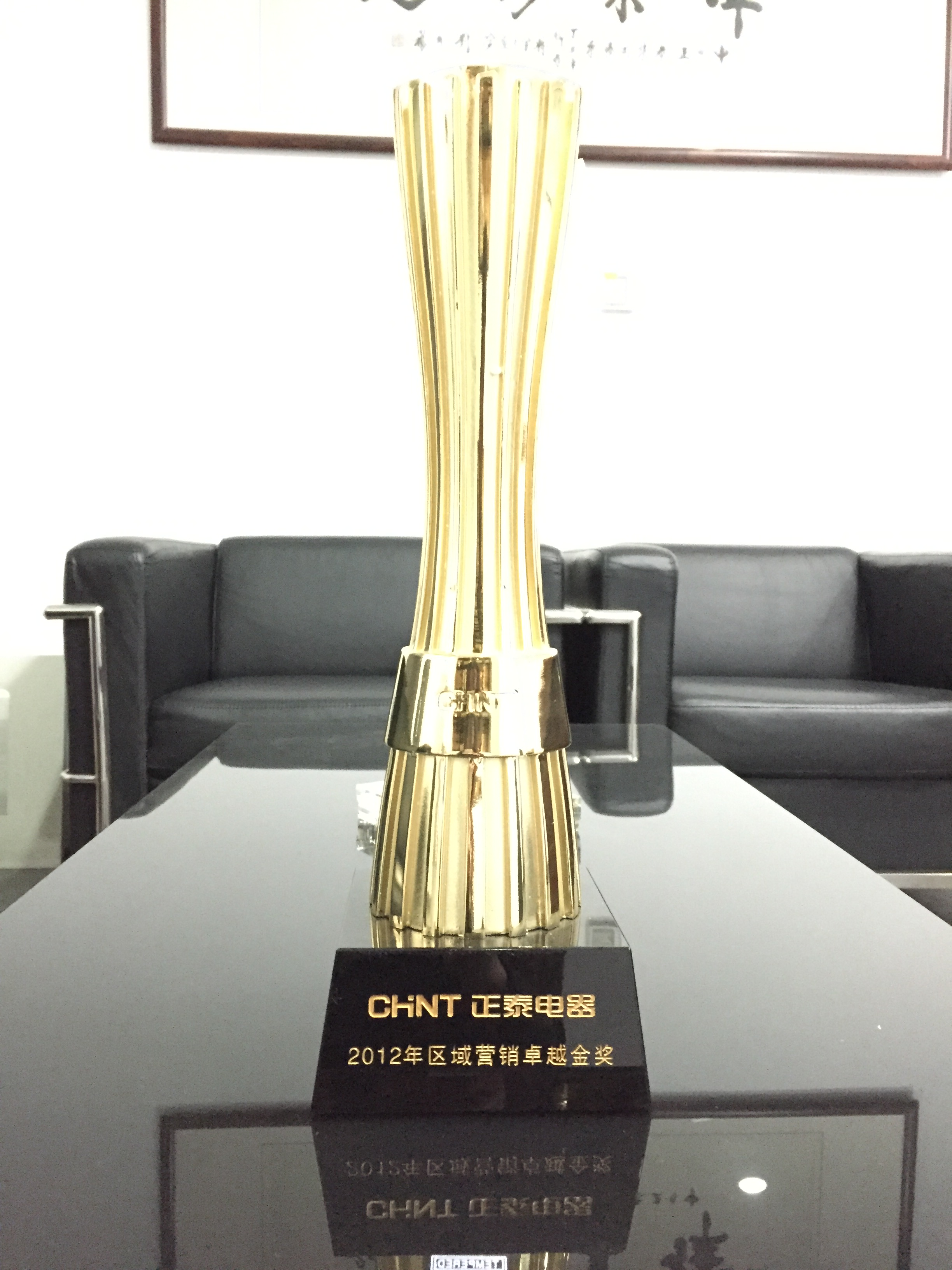 2012区域营销卓越金奖杯