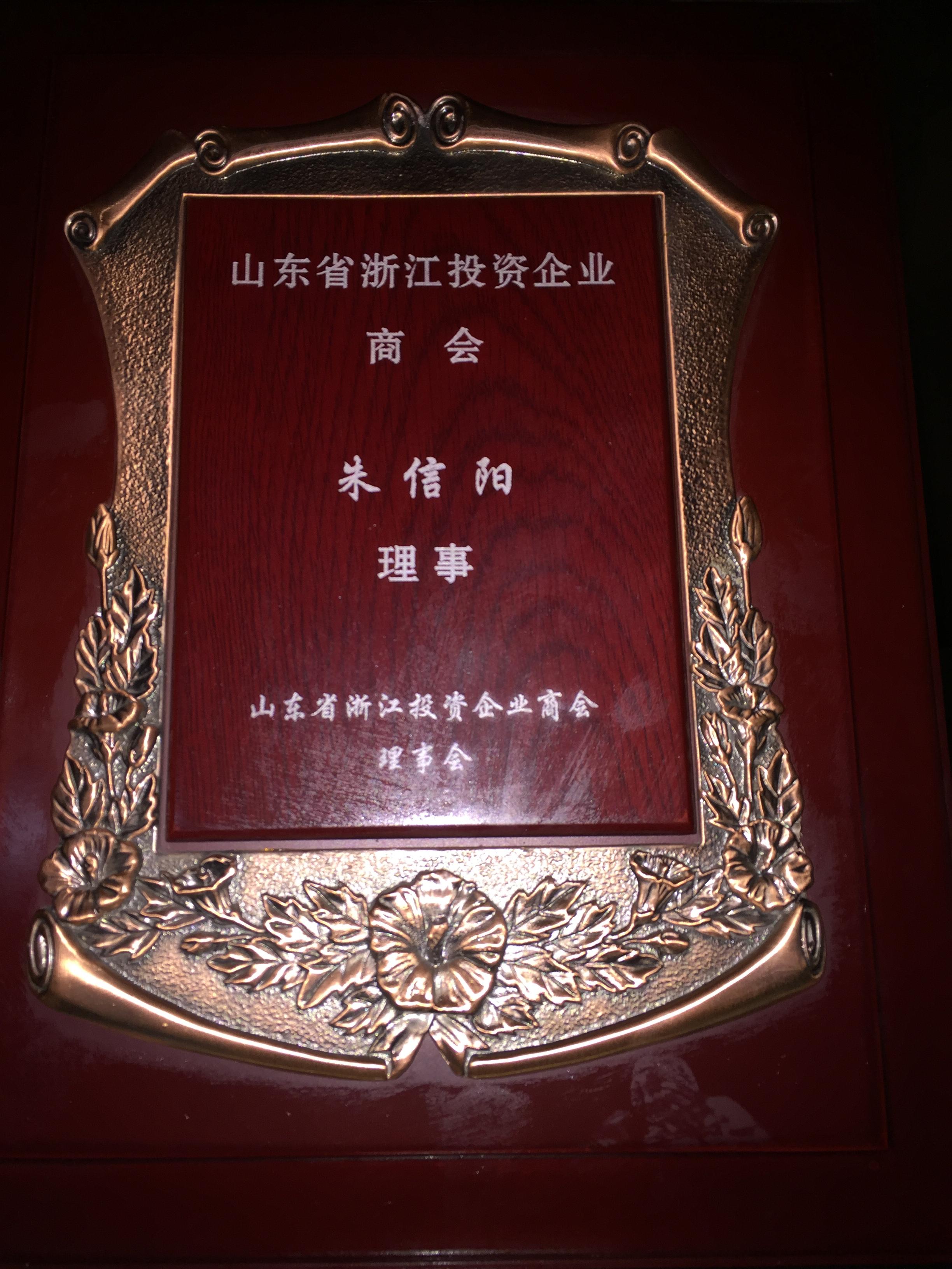 浙江投资企业商会朱信阳
