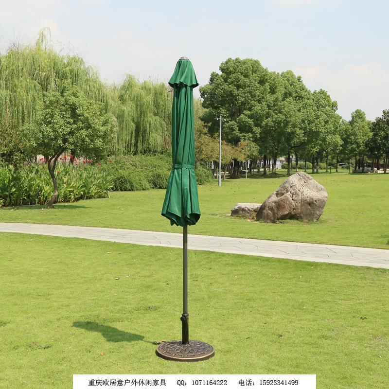 鐵中柱傘墨綠色2