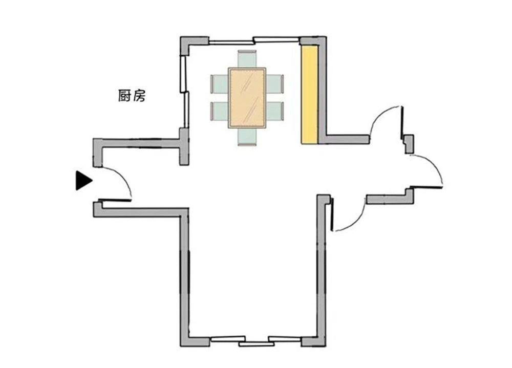 餐酒柜:餐邊柜與酒柜合二為一,餐廳擴容5m2!-21
