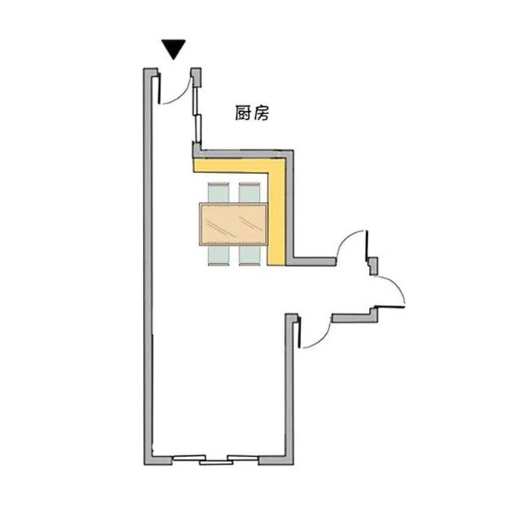 餐酒柜:餐邊柜與酒柜合二為一,餐廳擴容5m2!-22