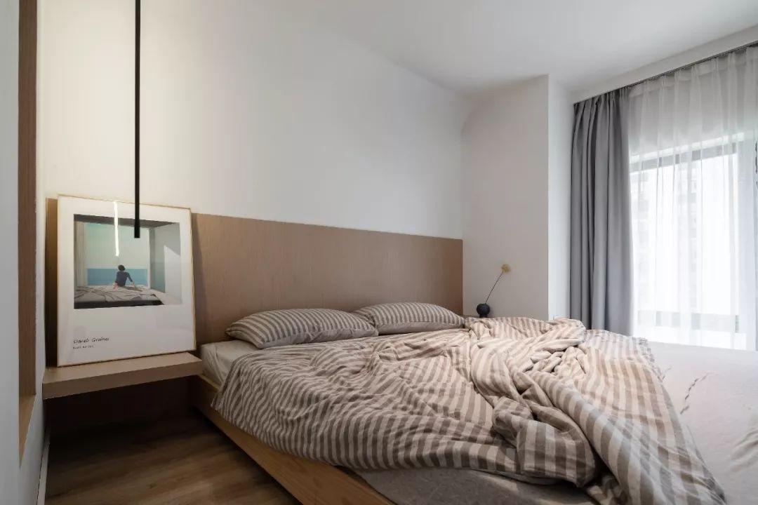 36㎡簡約風躍層單身公寓,過道加入收納柜更實用!-16