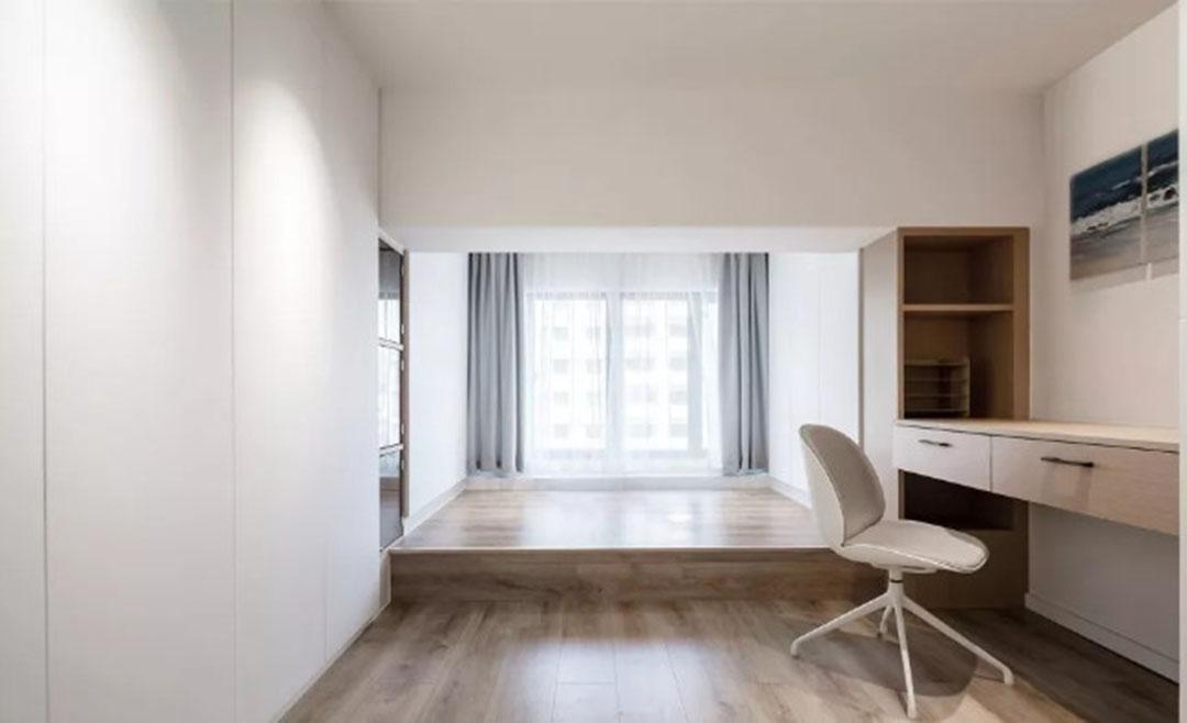 36㎡簡約風躍層單身公寓,過道加入收納柜更實用!-18
