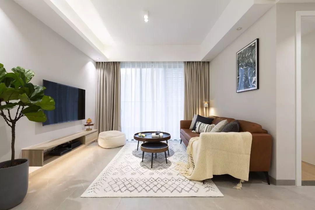 78㎡原木風兩居室,合理利用空間,讓家多出一個工作區。-5