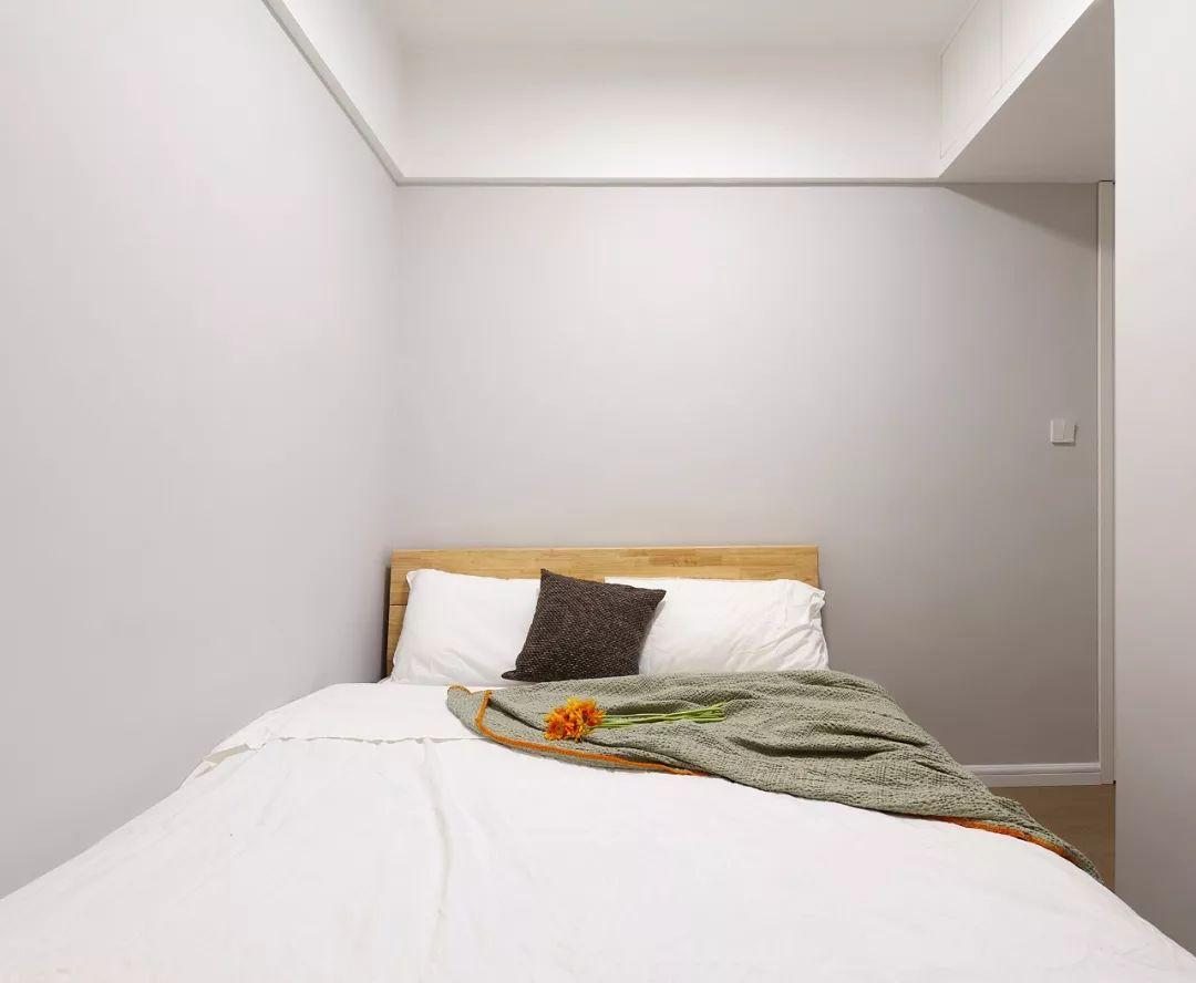78㎡原木風兩居室,合理利用空間,讓家多出一個工作區。-7