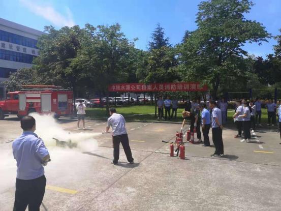 中线LOL外围_LOL外围举办档案人员消防常识培训