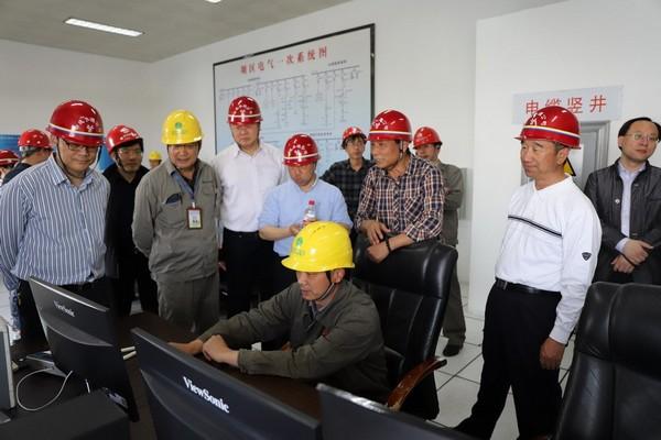 水利部南水北調司檢查丹江口大壩加高工程防汛工作