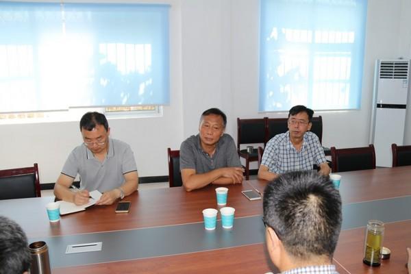 中線水源公司工程管理用房建設項目部召開現場動員會