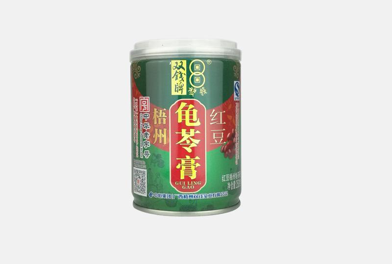 紅豆罐龜苓膏