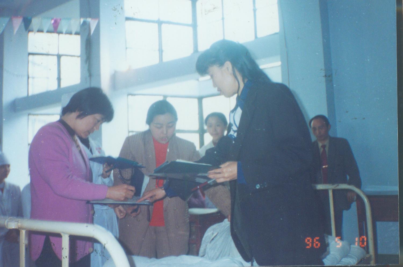 96年5月護士節技能比賽