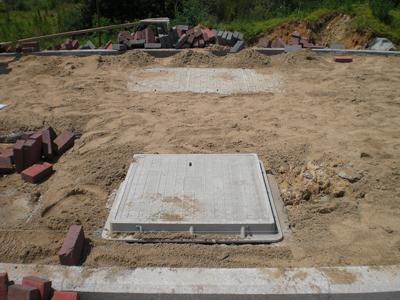 湖南路安方形井盖施工案例