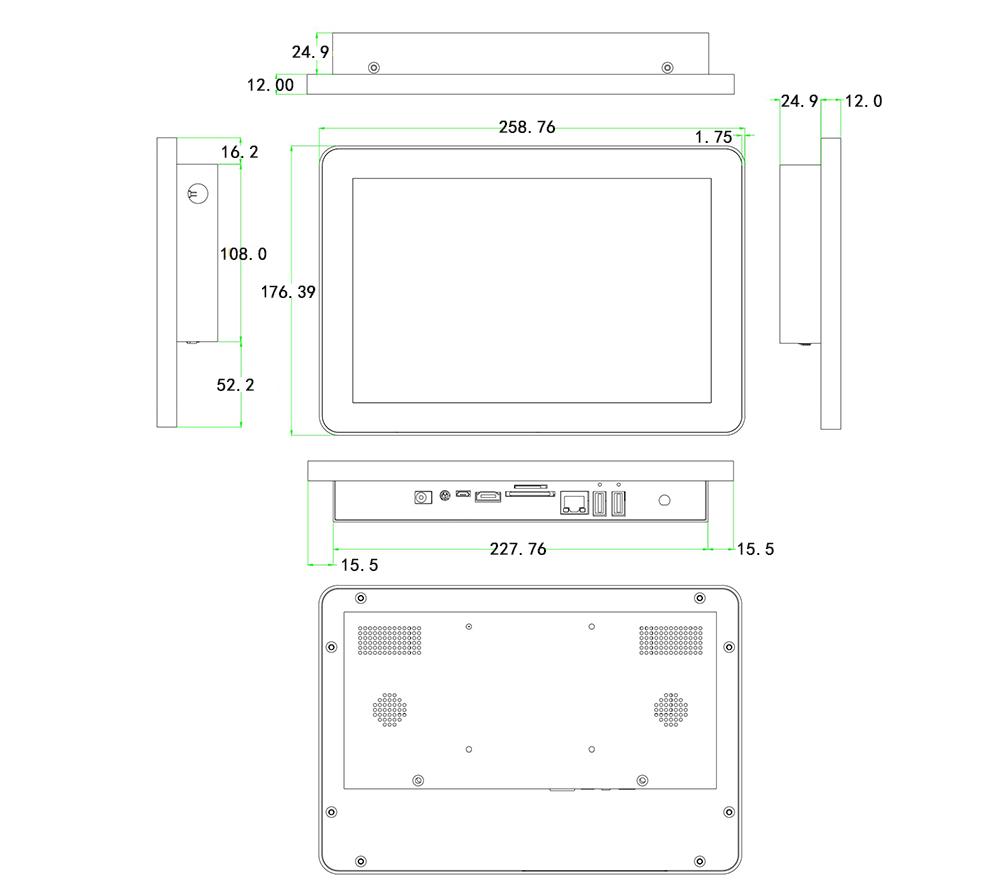 10.1寸工业平板