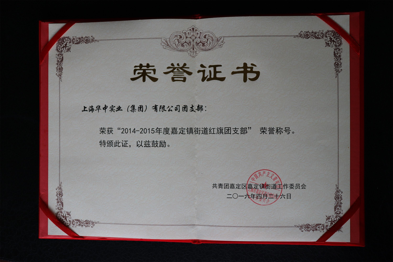 公司团支部荣誉