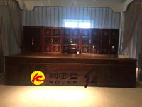 129-JZ-376QSBGZ交趾黄檀376清式办公桌1拷贝