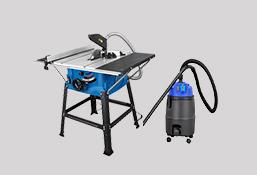 防尘切割操作台+吸尘器