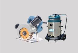 防尘切割机接吸尘器
