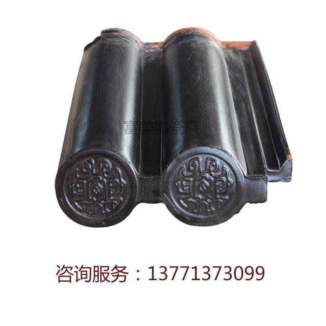 陶土雙筒瓦6