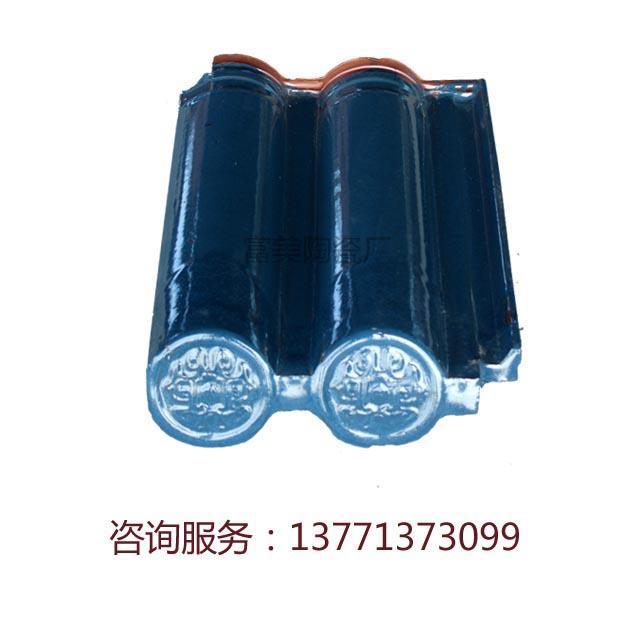 陶土雙筒瓦10