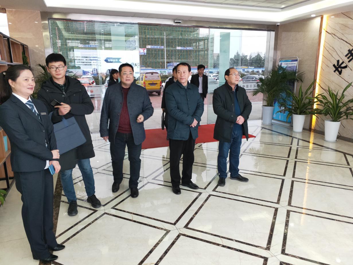 亚博官网登录市中小企业服务中心赴合肥长丰考察学习企业服务经验