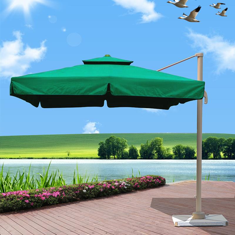2.5米方形罗马伞墨绿色