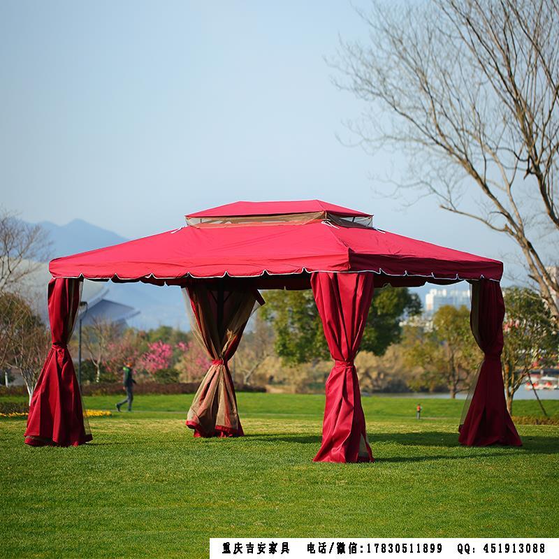 罗马帐篷红色