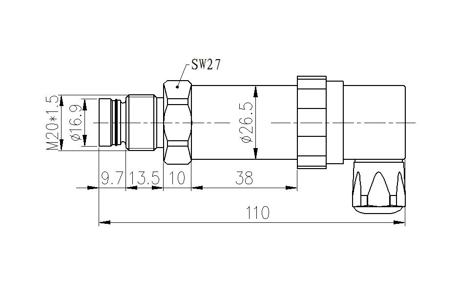 平膜压力尺寸940575