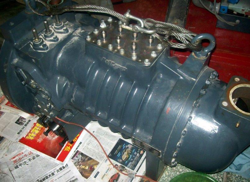 萊富康553壓縮機維修
