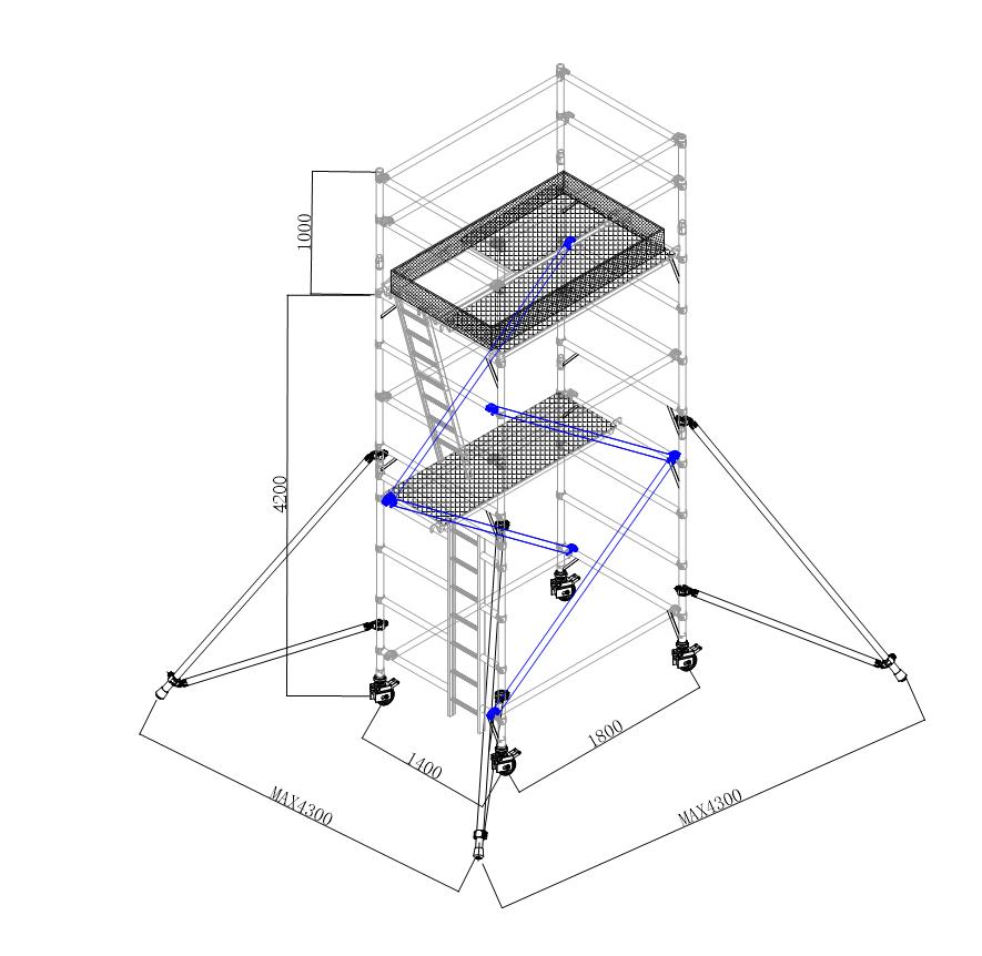 4.2米標配斜梯