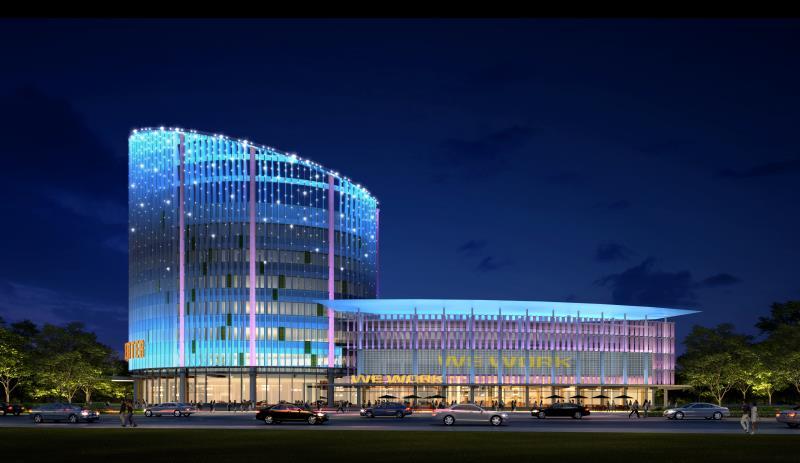 曲江行政商務區綜合樓提升改造項目3