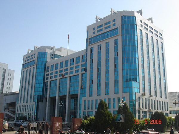 神木县政府大楼