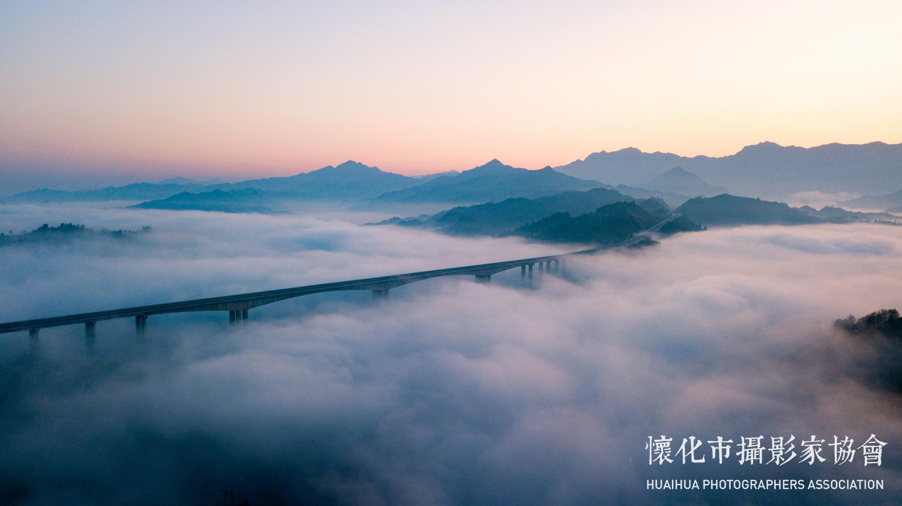 云蒸霞蔚三江桥-3