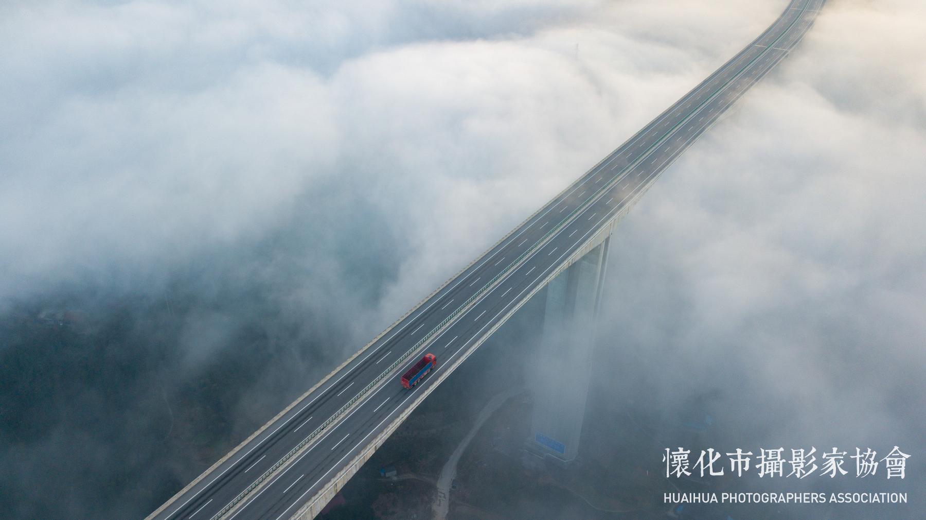 云蒸霞蔚三江桥-4