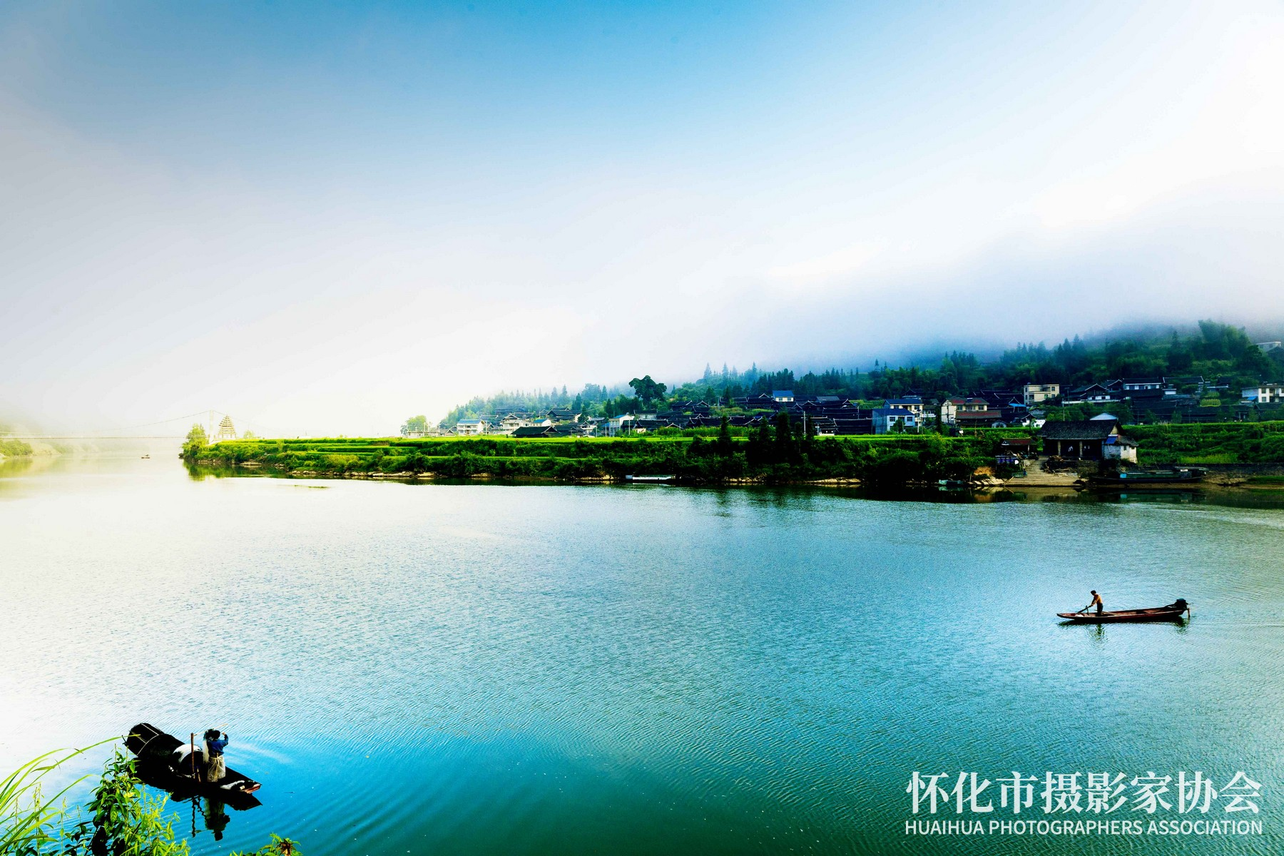 画中游---杨义高-摄于青朗乡客寨村-电话18244860655