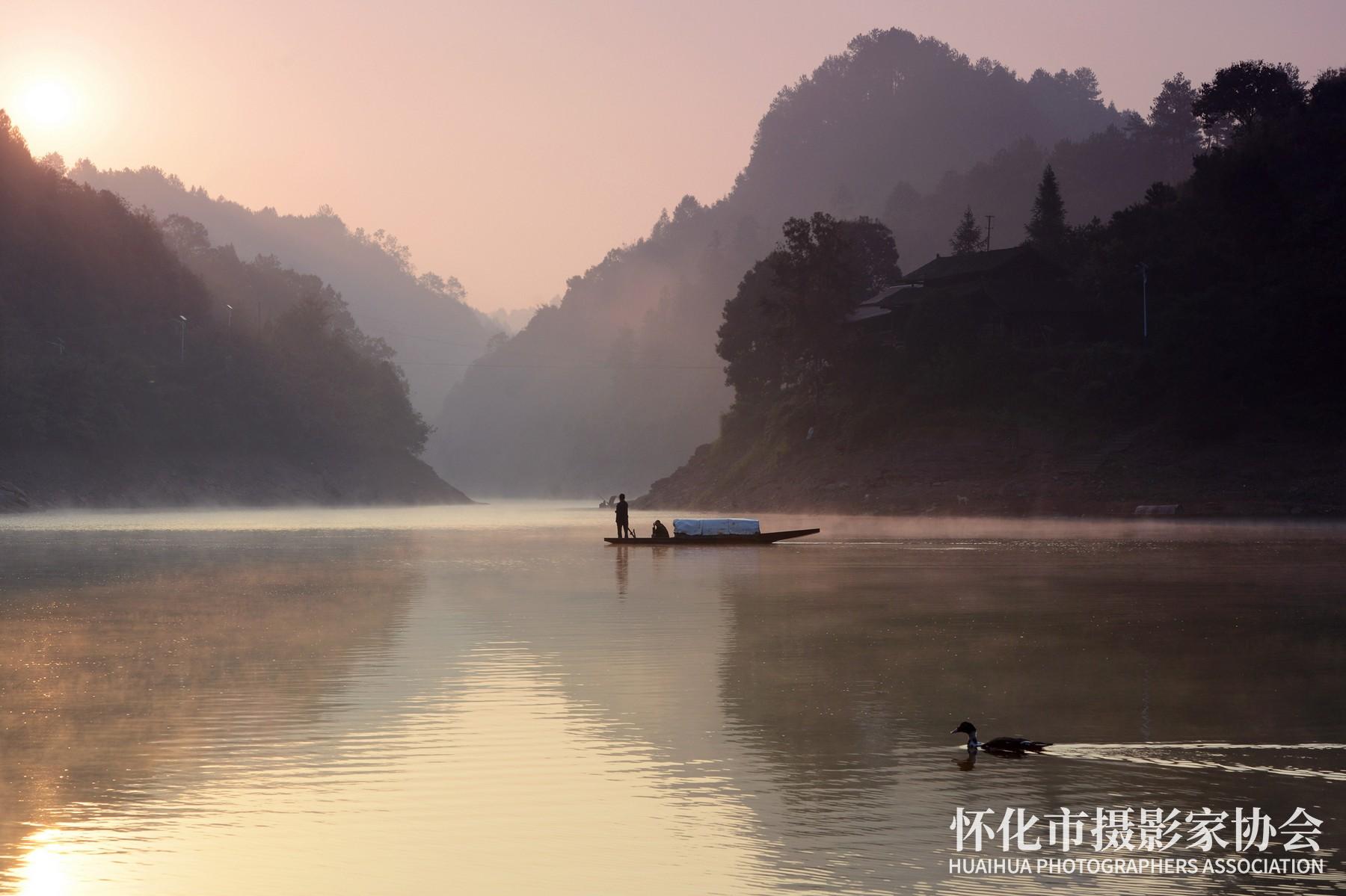 《怀化的竹林湖》米建华