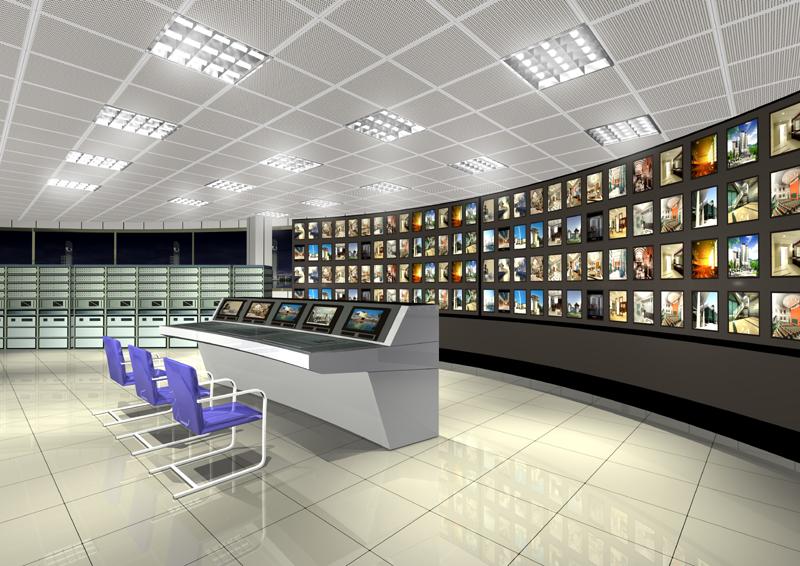 传媒中心大型监控系统建设